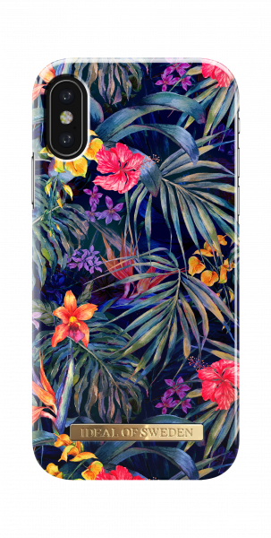 iDeal of Sweden iPhone XS/X Fashion Back Case Mysterious Jungle