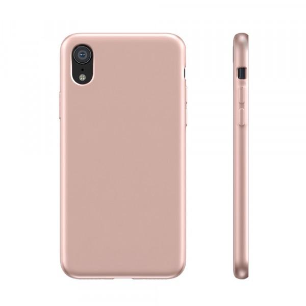 BeHello Premium iPhone XR Siliconen Hoesje Roze