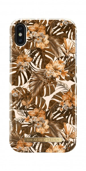 iDeal of Sweden Fashion Back Case Autumn Forest voor iPhone Xs Max