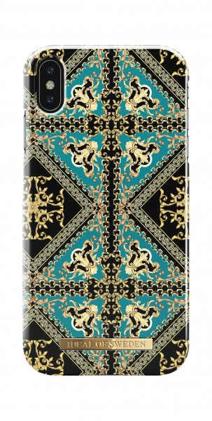 iDeal of Sweden Fashion Back Case Baroque Omament voor iPhone Xs Max