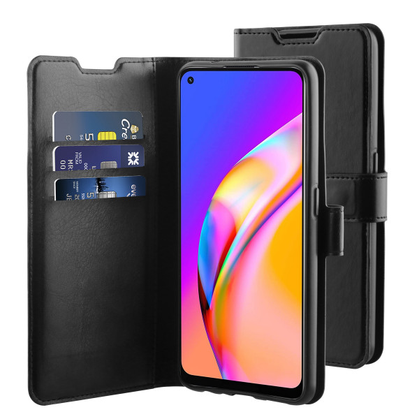 BeHello Oppo A94 Gel Wallet Case Black