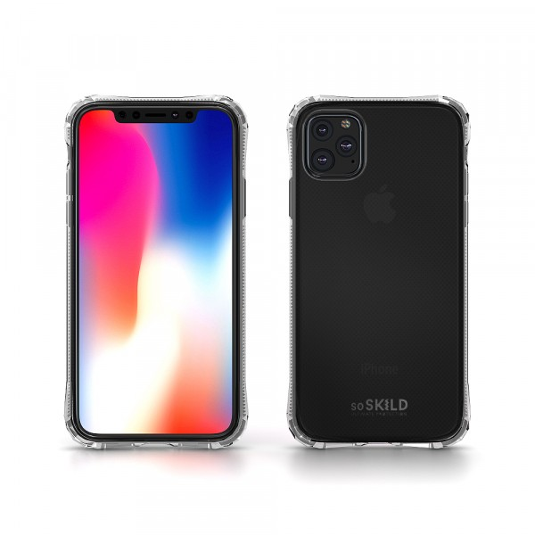 SoSkild iPhone 11 Pro Max Hoesje Absorb 2.0 Impact Case - Transparant