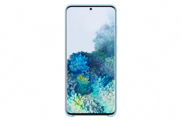 Samsung Galaxy S20+ Silicone Cover Sky Blue
