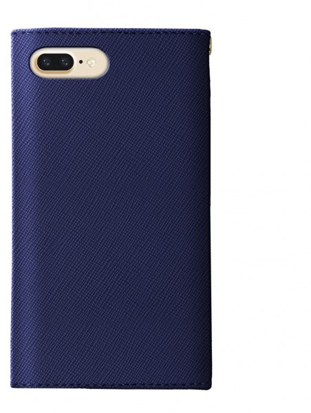 iDeal of Sweden Mayfair Clutch Wallet Case Donkerblauw voor iPhone 8 7 6s 6