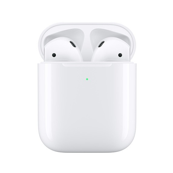 Apple In-Ear Headphone AirPods (2019) with Wireless Charging Case White