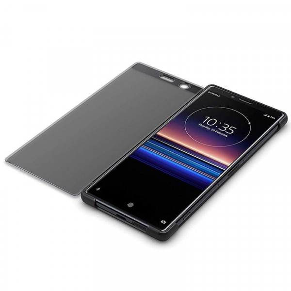 Sony Xperia 1 Style Cover Touch Case Black
