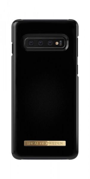 iDeal of Sweden Samsung Galaxy S10 Fashion Back Case Matte Black