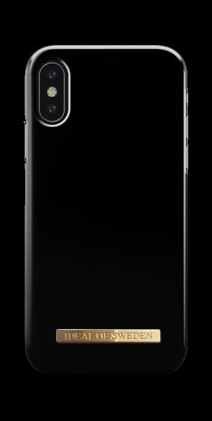 iDeal of Sweden iPhone XS/X Fashion Back Case Matte Black