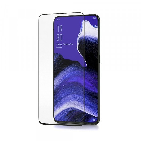 BeHello Oppo Reno2 Screenprotector Tempered Glass - High Impact Glass