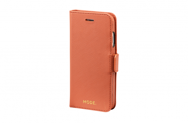 Dbramante1928 MODE iPhone SE / 8 / 7 / 6S / 6 New York 2-in-1 Wallet Case Rusty Rose
