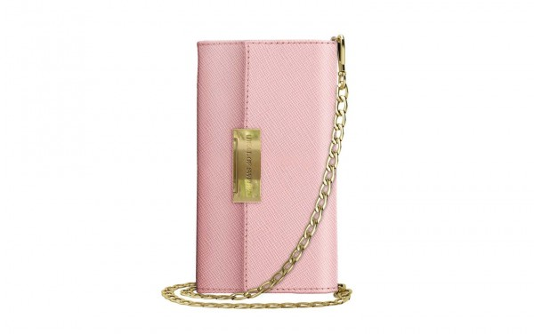 iDeal of Sweden Samsung Galaxy S10 Crossbody Wallet Saffiano Roze