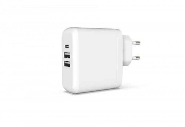 BeHello Multi-Charger 45W PD plus 2 USB Ports White