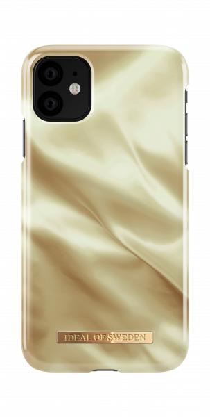 iDeal of Sweden iPhone 11 Fashion Back Case Honey Satin