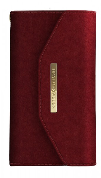 iDeal of Sweden Samsung Galaxy S10e Mayfair Clutch Velvet Red