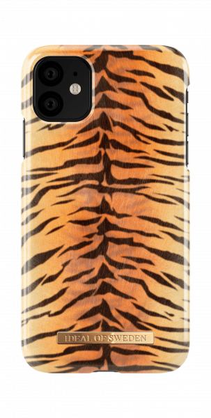 iDeal of Sweden iPhone 11 Fashion Case Sunset Tiger