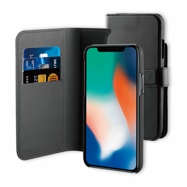 BeHello iPhone 11 Pro Max 2-in-1 Wallet Case Black