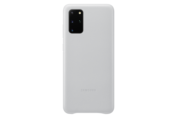 Samsung Galaxy S20+ Leather Cover Light Grey