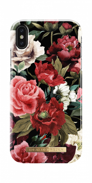 iDeal of Sweden iPhone XS Max Fashion Back Case Antique Roses