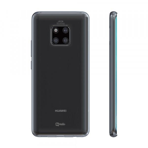 BeHello Huawei Mate 20 Pro ThinGel Siliconen Hoesje Transparant