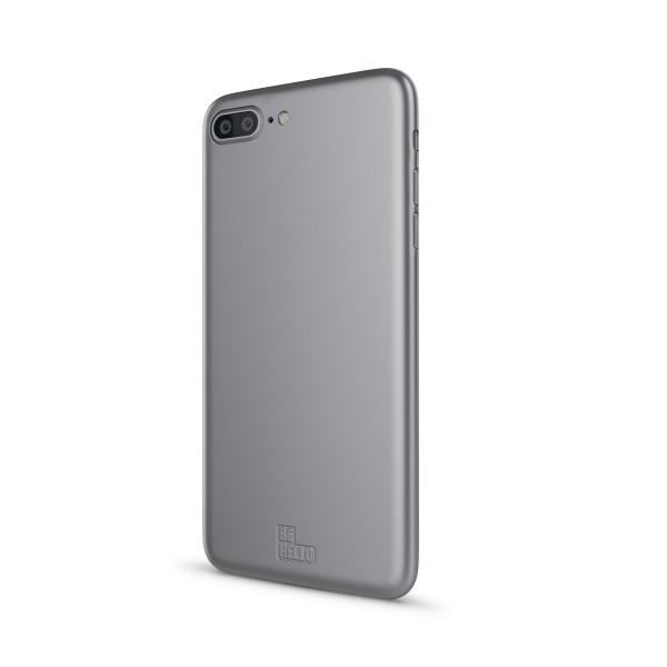 BeHello Soft Touch Back Case Zilver voor iPhone 8 Plus 7 Plus 6s Plus 6 Plus