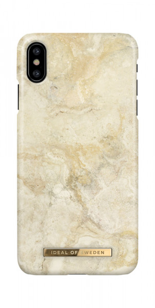 iDeal of Sweden iPhone X / XS Fashion Case Sandstorm Marble