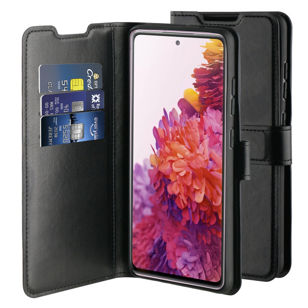 BeHello Samsung Galaxy S20 FE Gel Wallet Case Black