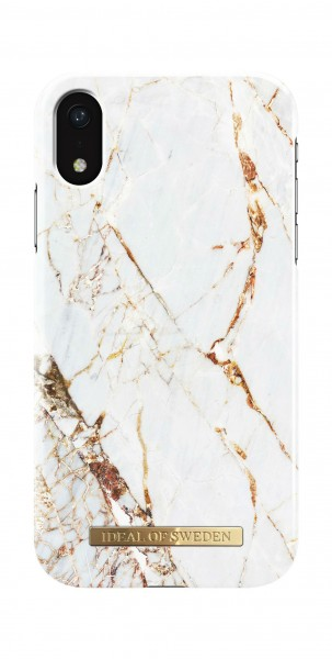 iDeal of Sweden Fashion Back Case Carrara Gold voor iPhone Xr