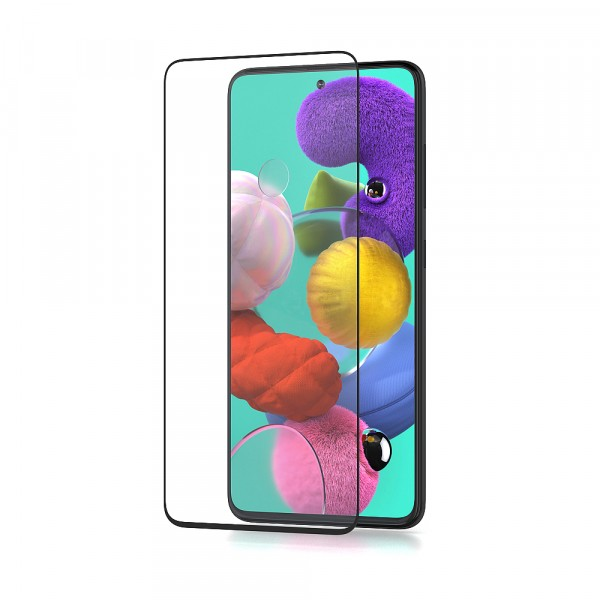 BeHello Samsung Galaxy A51 Screenprotector High Impact Glass