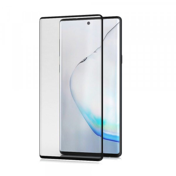 BeHello Samsung Galaxy Note 10+ Screenprotector Tempered Glass - High Impact Glass