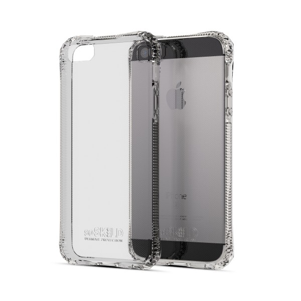 SoSkild iPhone SE/5S/5 Absorb Case Transparant