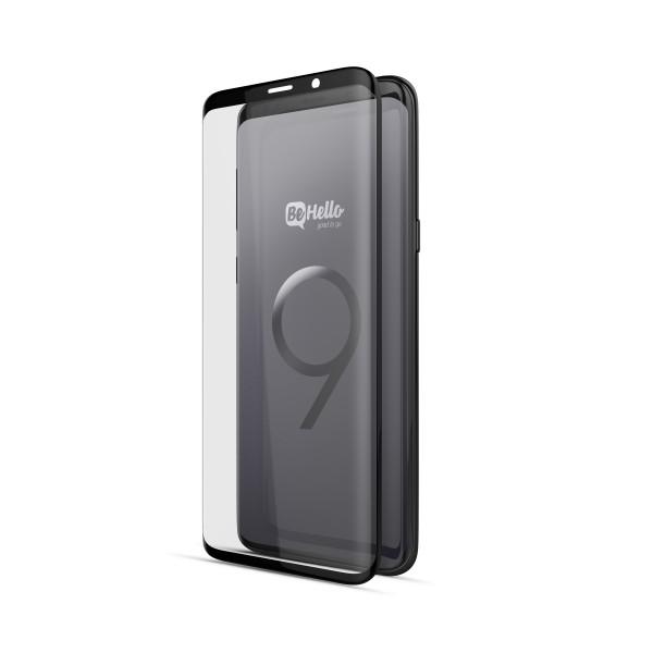 BeHello Screenprotector High Impact Glass voor Samsung Galaxy S9