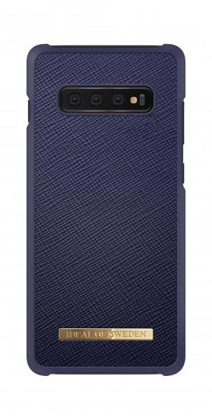 iDeal of Sweden Samsung Galaxy S10+ Fashion Case Saffiano Navy