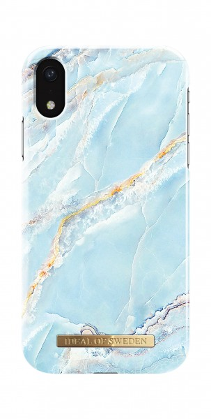 iDeal of Sweden iPhone Xr Fashion Back Case Island Paradise Marble