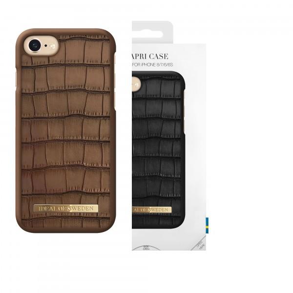 iDeal of Sweden iPhone 8 / 7 / 6S/ 6 Capri Case Brown