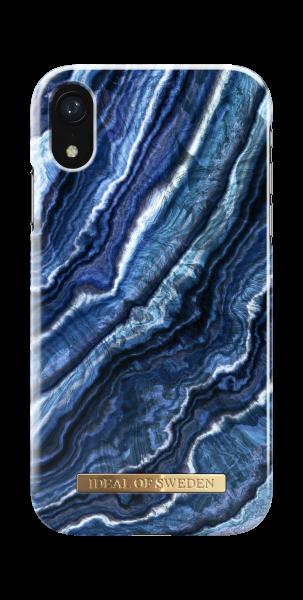 iDeal of Sweden iPhone Xr Fashion Back Case Indigo Swirl