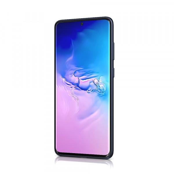 BeHello Samsung Galaxy S20+ Liquid Silicone Case Midnight Blue