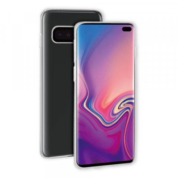 BeHello Samsung Galaxy S10+ ThinGel Siliconen Hoesje Transparant