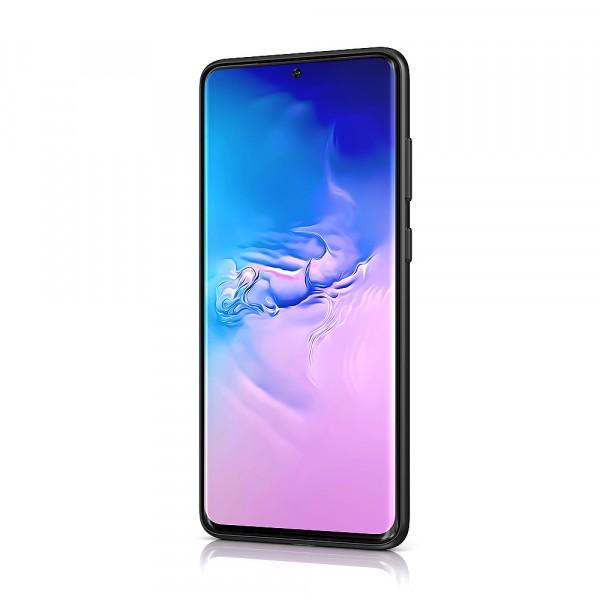 BeHello Samsung Galaxy S20 Siliconen Hoesje Zwart