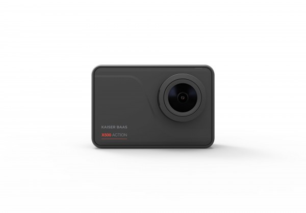Kaiser Baas X500 Wifi Action Camera 4K+ 60fps 16mp 7G Lens Black