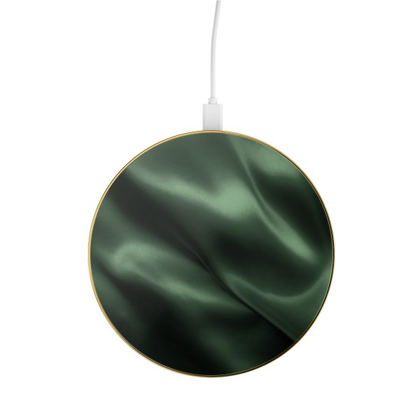 iDeal of Sweden Wireless Charger Fashion Qi Emerald Satin