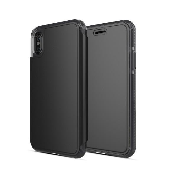 SoSkild Defend Wallet Case Zwart voor iPhone X Xs