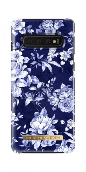 iDeal of Sweden Samsung Galaxy S10 Fashion Back Case Sailor Blauw Bloom