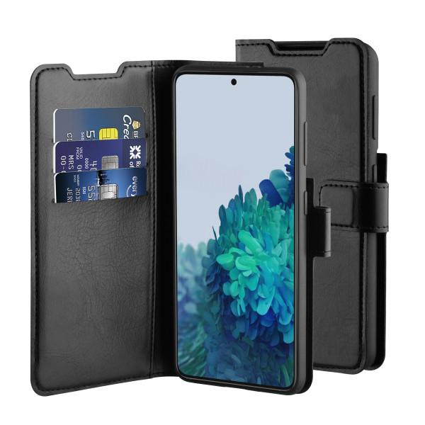 BeHello Samsung Galaxy S21+ Gel Wallet Case Black