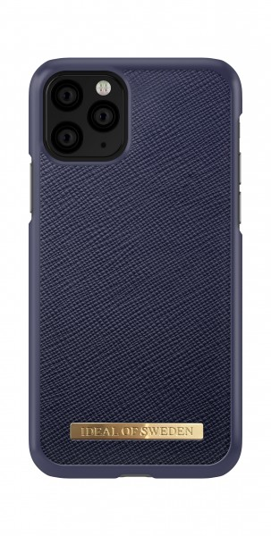 iDeal of Sweden iPhone 11 Pro Fashion Back Case Saffiano Navy