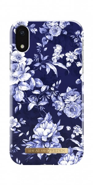 iDeal of Sweden iPhone Xr Fashion Back Case Sailor Blauw Bloom