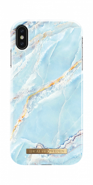 iDeal of Sweden iPhone XS Max Fashion Back Case Island Paradise Marble