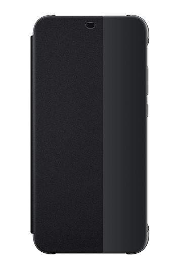 Huawei View Flip Cover Zwart voor Huawei P20 Lite