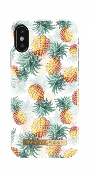 iDeal of Sweden iPhone XS/X Fashion Back Case Pineapple Bonanza