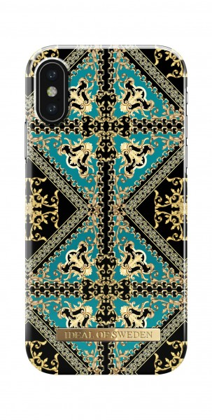 iDeal of Sweden Fashion Back Case Baroque Ornament voor iPhone X Xs
