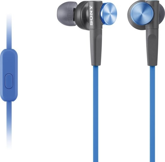 Sony In-Ear Headphone SONMDRXB50APL.CE7 Blauw
